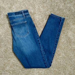 Buffalo Skinny Jean Midrise Size 8 28 EUC